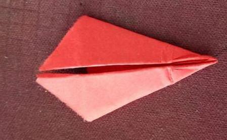 棒棒糖手工折纸步骤图解法 手工折纸-第4张