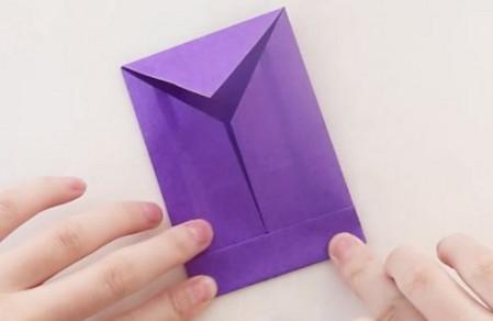 手工折纸文具盒步骤图 手工折纸-第8张