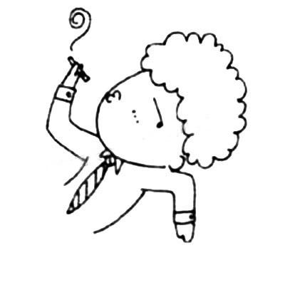 上班族简笔画画法教程 中级简笔画教程-第4张