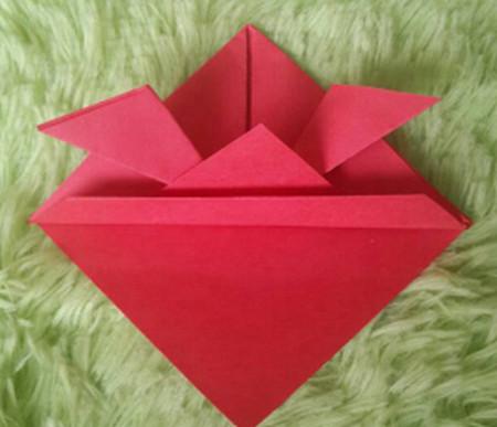 立体小金鱼的简单折法 手工折纸-第8张