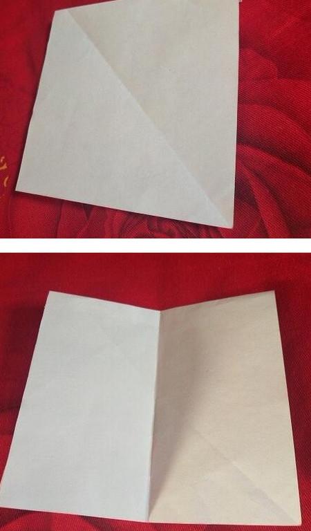 手工折纸西装步骤图解法 手工折纸-第3张
