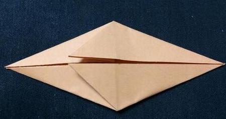 手工折纸鲤鱼步骤图解 手工折纸-第4张
