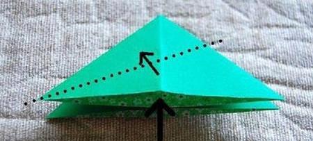 四叶草手工折纸步骤图 手工折纸-第5张