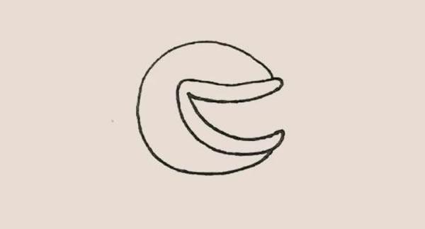 儿童简笔画食人花画法教程 中级简笔画教程-第4张