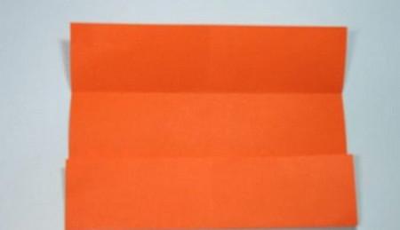 带翅膀爱心的折法图解 手工折纸-第4张