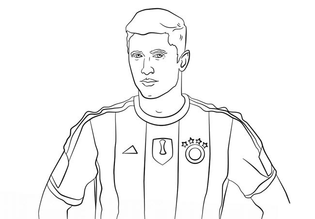 足球运动员简笔画图片 人物-第7张