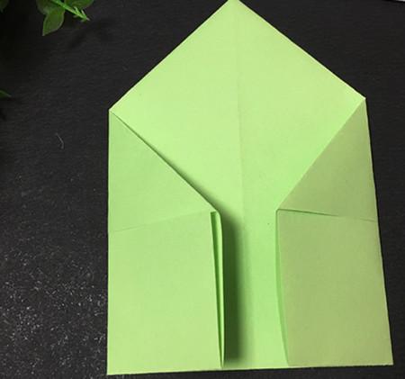 简单的折纸青蛙简单折法 手工折纸-第5张