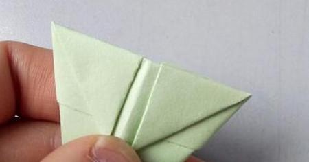 小兔子笔帽儿童手工折法图解 手工折纸-第7张