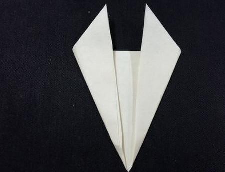 折纸羊头的折法图解 手工折纸-第4张