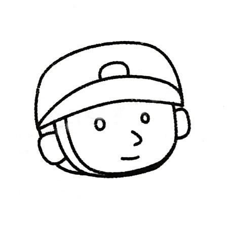 儿童画士兵简笔画画法步骤 中级简笔画教程-第1张