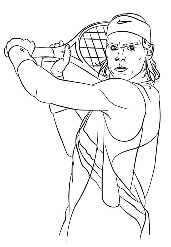 网球运动员简笔画图片大全 人物-第2张