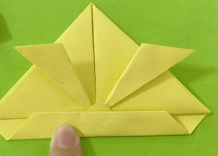 愤怒的小手工折纸步骤图 手工折纸-第10张