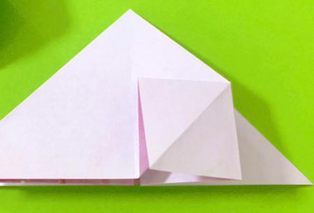 冰淇淋折纸步骤图解法 手工折纸-第5张