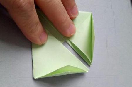 小兔子笔帽儿童手工折法图解 手工折纸-第5张
