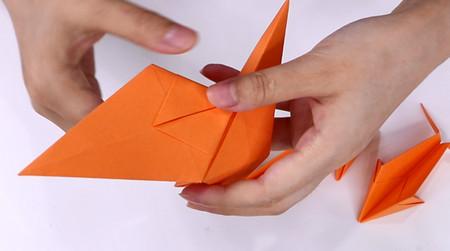 手工折纸飞机的步骤图解 手工折纸-第12张