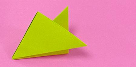 蜈蚣折纸图解步骤 手工折纸-第6张