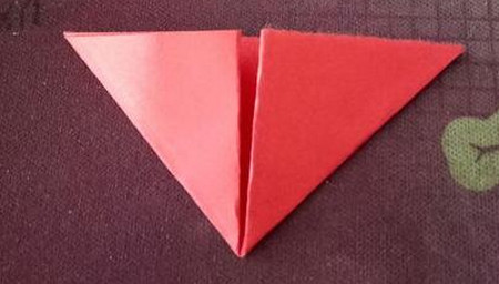 棒棒糖手工折纸步骤图解法 手工折纸-第3张