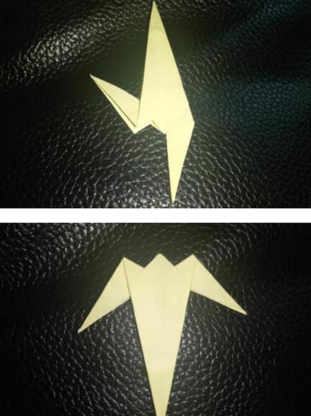手工折纸小燕子步骤图解 手工折纸-第7张
