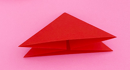 折纸樱桃步骤图解法 手工折纸-第4张