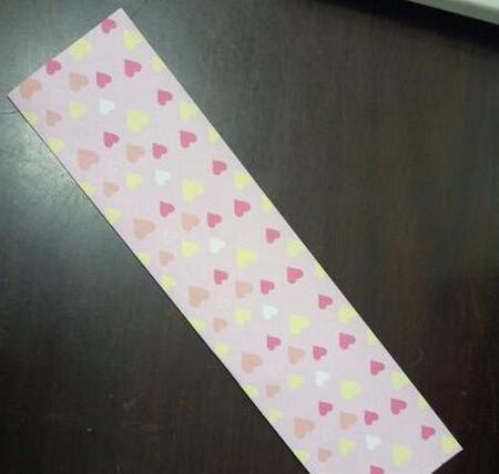 爱心笔帽的折法图解 手工折纸-第3张