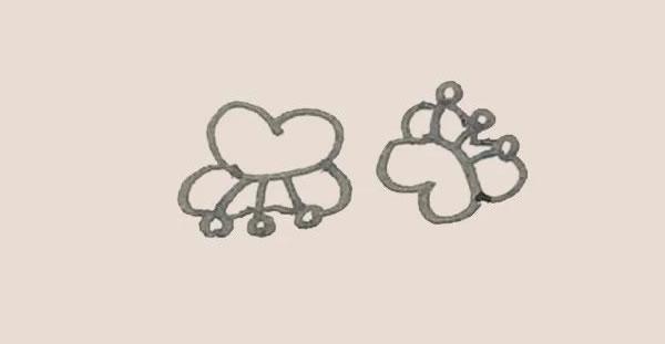 蝴蝶兰花朵简笔画的画法 中级简笔画教程-第5张