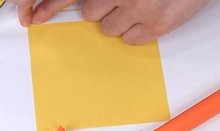 伸缩扇子的折法图解 手工折纸-第15张