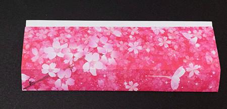 手提包折纸步骤图 手工折纸-第4张