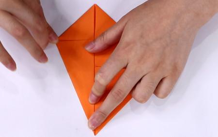 手工折纸飞机的步骤图解 手工折纸-第5张