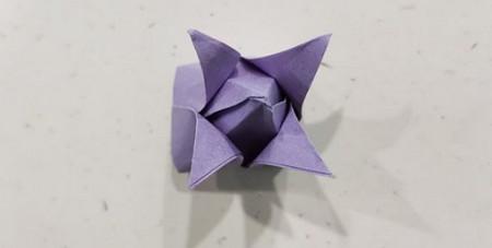 郁金香手工折步骤图解 手工折纸-第12张