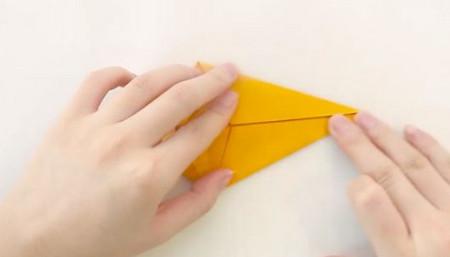 小猫立体折纸步骤图解法 手工折纸-第10张
