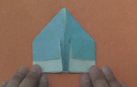儿童手工折纸飞碟怎么折 手工折纸-第4张