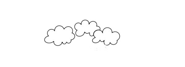 大树简笔画,桉树简笔画画法步骤教程 中级简笔画教程-第2张