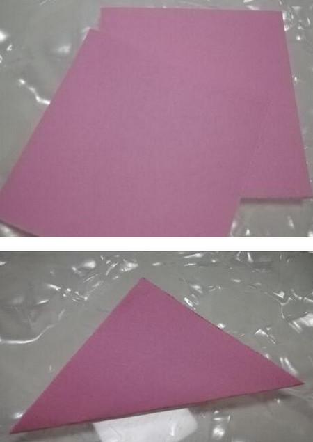 儿童折纸魔术帽的折法图解 手工折纸-第2张