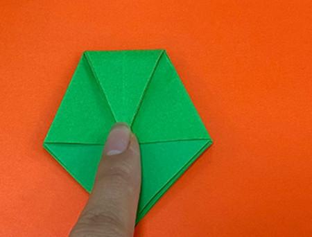 降落伞折纸方法图片大全 手工折纸-第7张