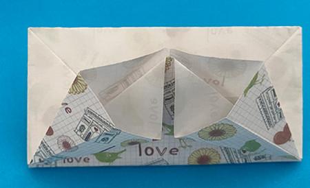 皇冠帽子折纸步骤图解 手工折纸-第10张
