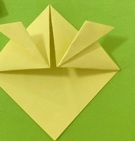 愤怒的小手工折纸步骤图 手工折纸-第8张