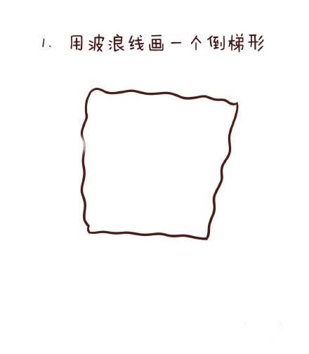 教你画海绵宝宝简笔画 中级简笔画教程-第2张