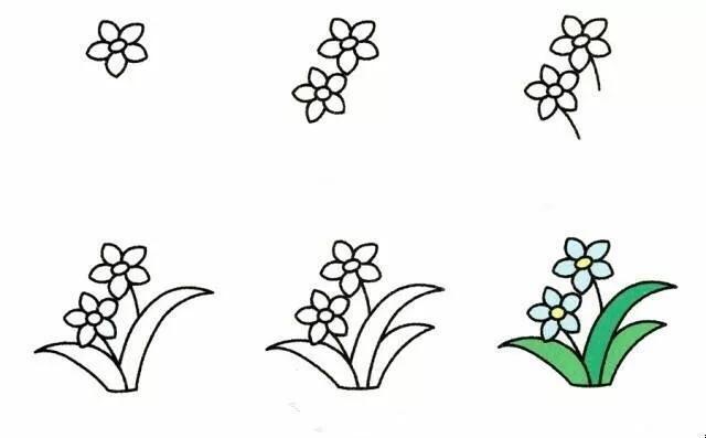 9种植物简笔画超详细教程 初级简笔画教程-第6张