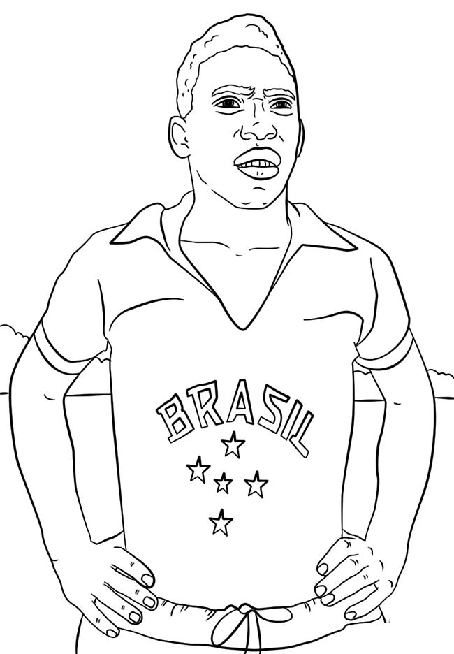 足球运动员简笔画图片 人物-第3张