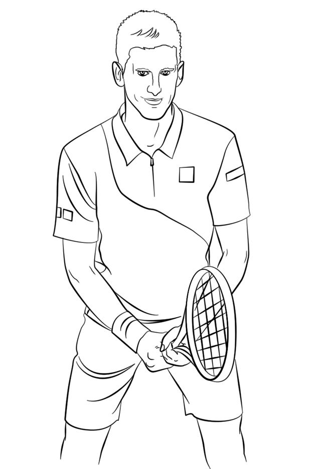 网球运动员简笔画图片大全 人物-第1张