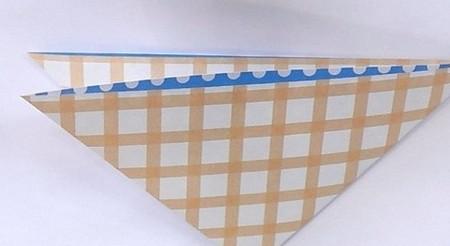 八瓣花手工折纸图解 手工折纸-第3张