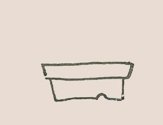 盆栽简笔画彩色画法步骤图解教程 初级简笔画教程-第2张