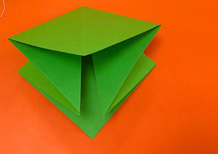 降落伞折纸方法图片大全 手工折纸-第3张