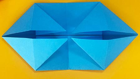 折纸小猪的步骤图解 手工折纸-第5张