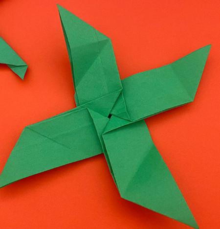 回力标折纸教程图解 手工折纸-第15张