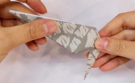 手工折纸大象的步骤图解 手工折纸-第5张