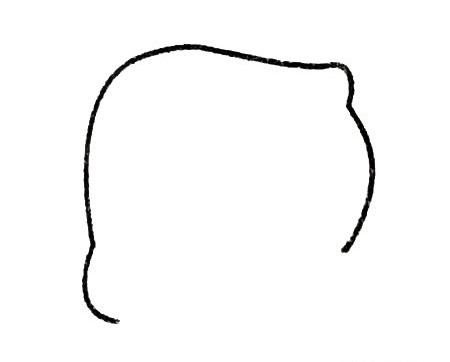爸爸头像简笔画画法步骤 中级简笔画教程-第2张