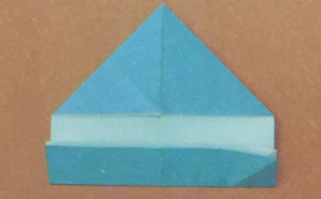 儿童手工折纸飞碟怎么折 手工折纸-第2张