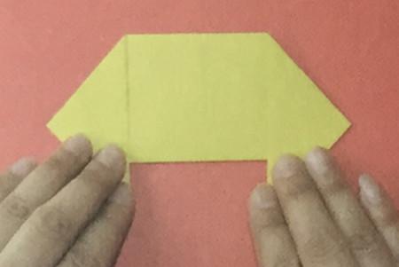 儿童手工折纸汽车步骤图解 手工折纸-第3张
