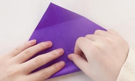 手工折纸文具盒步骤图 手工折纸-第3张